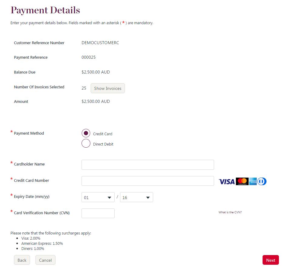 QuickWeb Invoicing - QuickWeb Invoicing Technical Implementation Guide